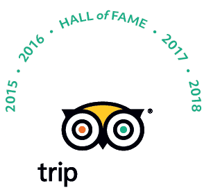 Certificate of Excellence Tripadvisor Winner of 2019
