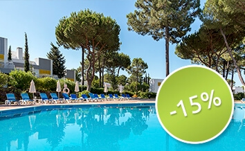 Save to 15%  - early booking discount - Pinhal da Marina