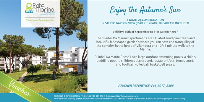 Enjoy the autumn's Sun – 70€